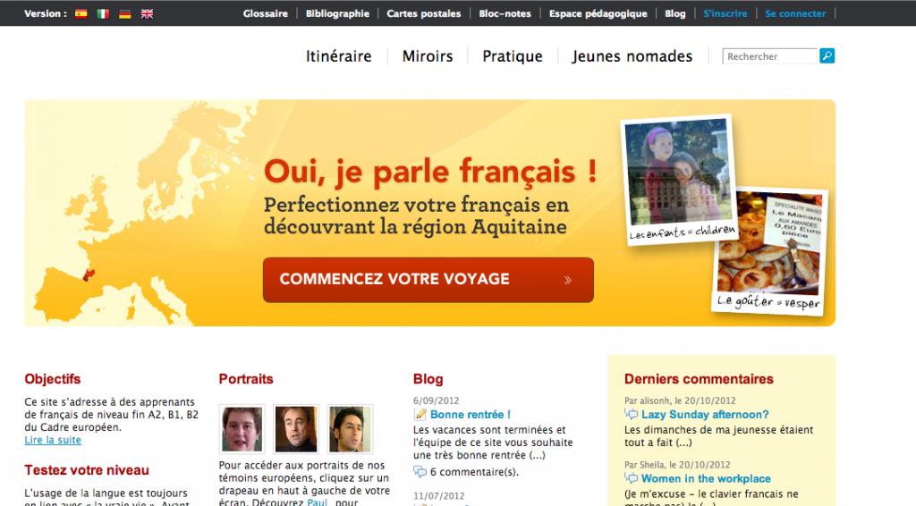 site de rencontre française 2012
