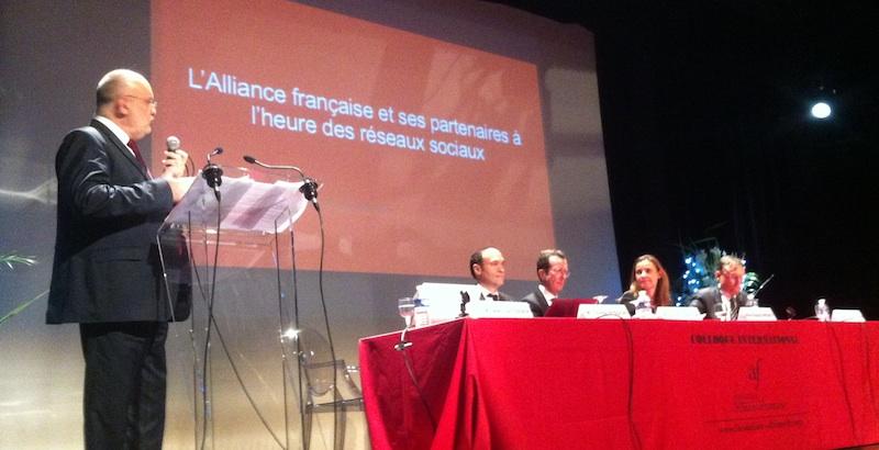 colloque alliance francaise - réseaux sociaux