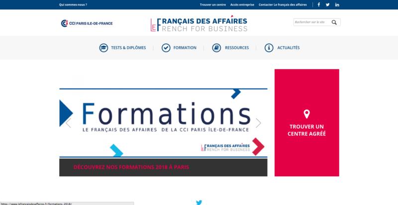 Centre de langue française de la CCIP